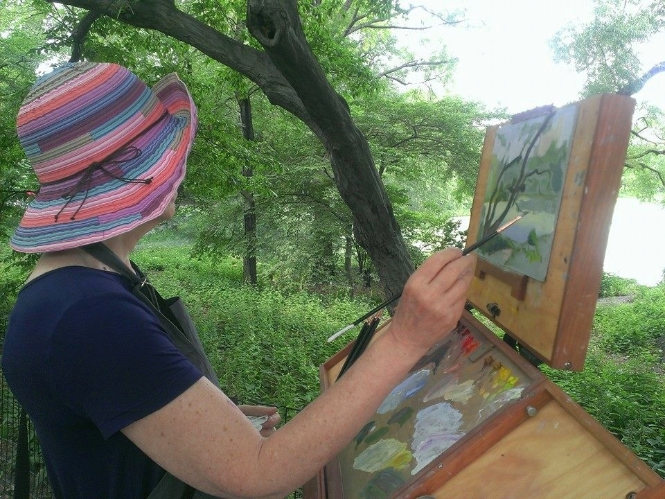 Julie Painting